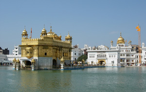 Amritsar, The North of India. Golden Temple. Photo